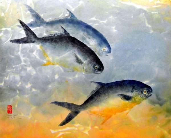 "perierga.gr - Gyotaku: Μια παράξενη τεχνική ""αποτύπωσης"" σε χαρτί με αληθινά ψάρια!"