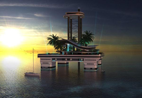 perierga.gr - Kokomo Ailand: Tο πλωτό νησί που το πας όπου θέλεις!