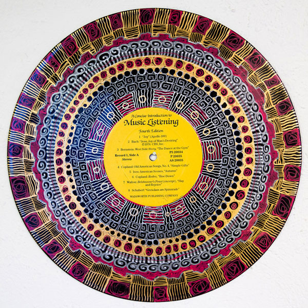 perierga.gr - Ζωγραφική πάνω σε παλιούς δίσκους βινυλίου!