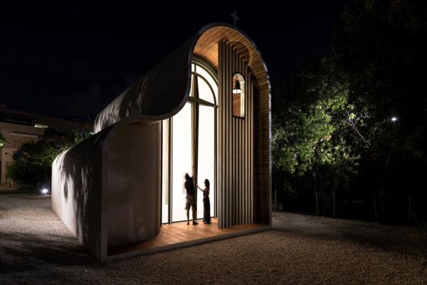 perierga.gr - Φουτουριστικό εκκλησάκι στην Κύπρο!