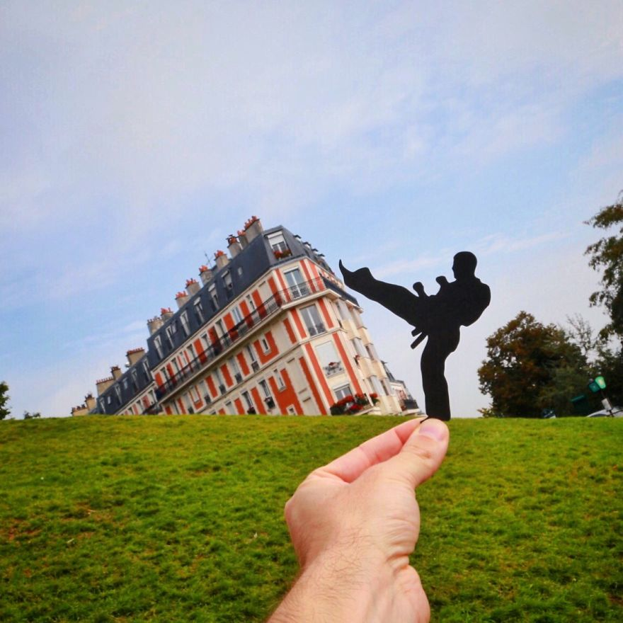 perierga.gr - Φωτογραφίζοντας διάσημα μνημεία αλλιώς!