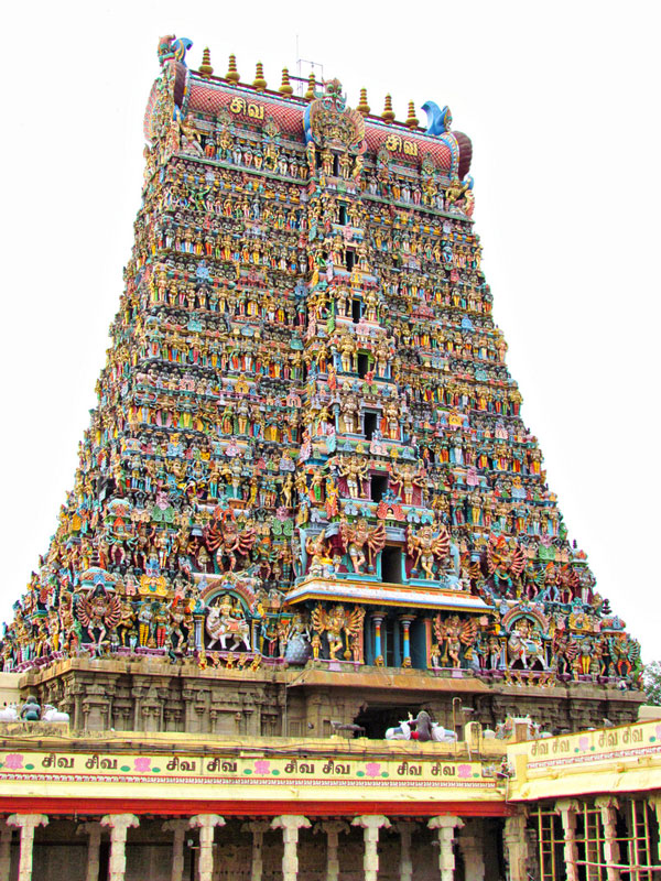 perierga.gr - Επιβλητικός πολύχρωμος ναός στην Ινδία!