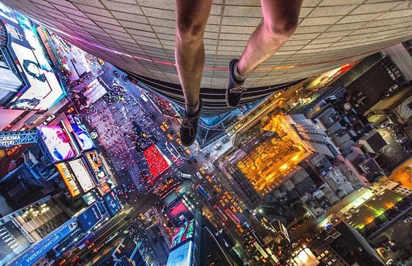 perierga.gr - Selfies στα πανύψηλα κτήρια της Νέας Υόρκης!