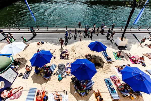perierga.gr - Οι τεχνητές παραλίες του Σηκουάνα!