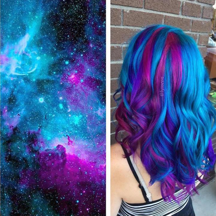 perierga.gr - Ένας... γαλαξίας στα μαλλιά!