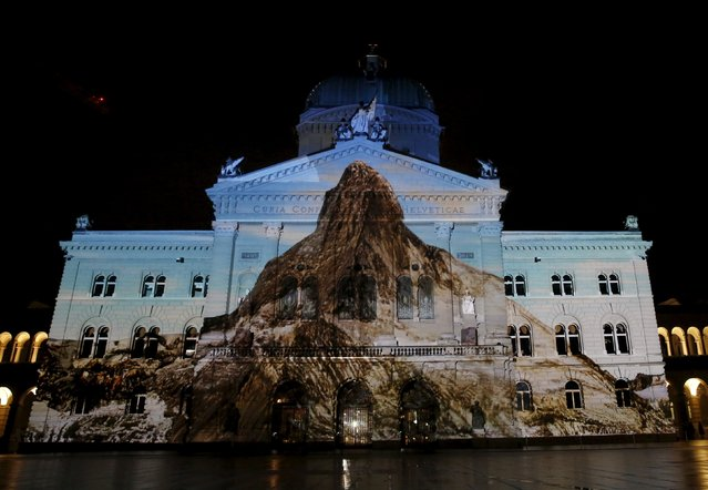 perierga.gr - Φεστιβάλ φωτός στην Ελβετία