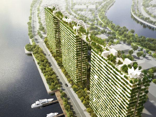 "perierga.gr - ""Πράσινοι"" ουρανοξύστες ενώνονται με γέφυρες!"