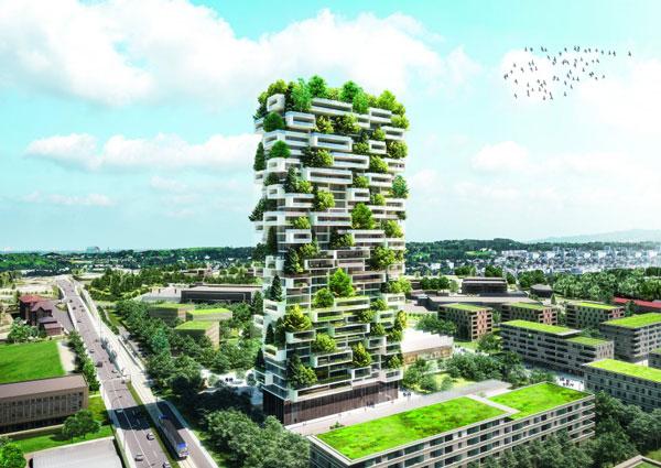"perierga.gr - Ο ""Πύργος των Κέδρων"" στη Λωζάννη με 100 είδη φυτών!"