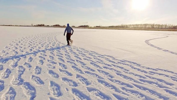 perierga.gr - Έργα τέχνης στα χιόνια της Σιβηρίας!
