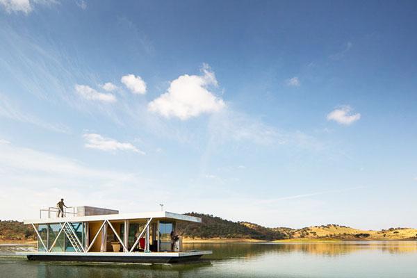 perierga.gr - Πλωτό σπίτι που ταξιδεύει όπου θέλετε!