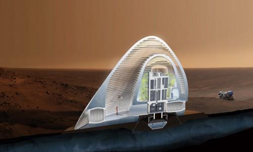 perierga.gr - Έτσι θα είναι τα πρώτα σπίτια στον Άρη