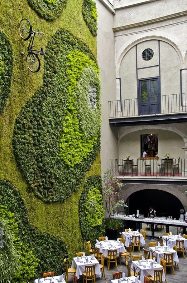 perierga.gr - Πράσινοι... τοίχοι φέρνουν τη φύση στο σπίτι!