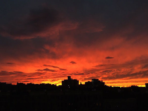 perierga.gr - Μαγευτικά ηλιοβασιλέματα από τη Νέα Υόρκη!