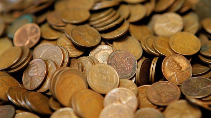 perierga.gr - Κατάθεση 5.000 δολαρίων σε... μονόλεπτα!
