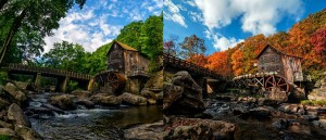 perierga.gr - Υπέροχη αλλαγή των εποχών στο παλιαότερο ποτάμι του κόσμου!