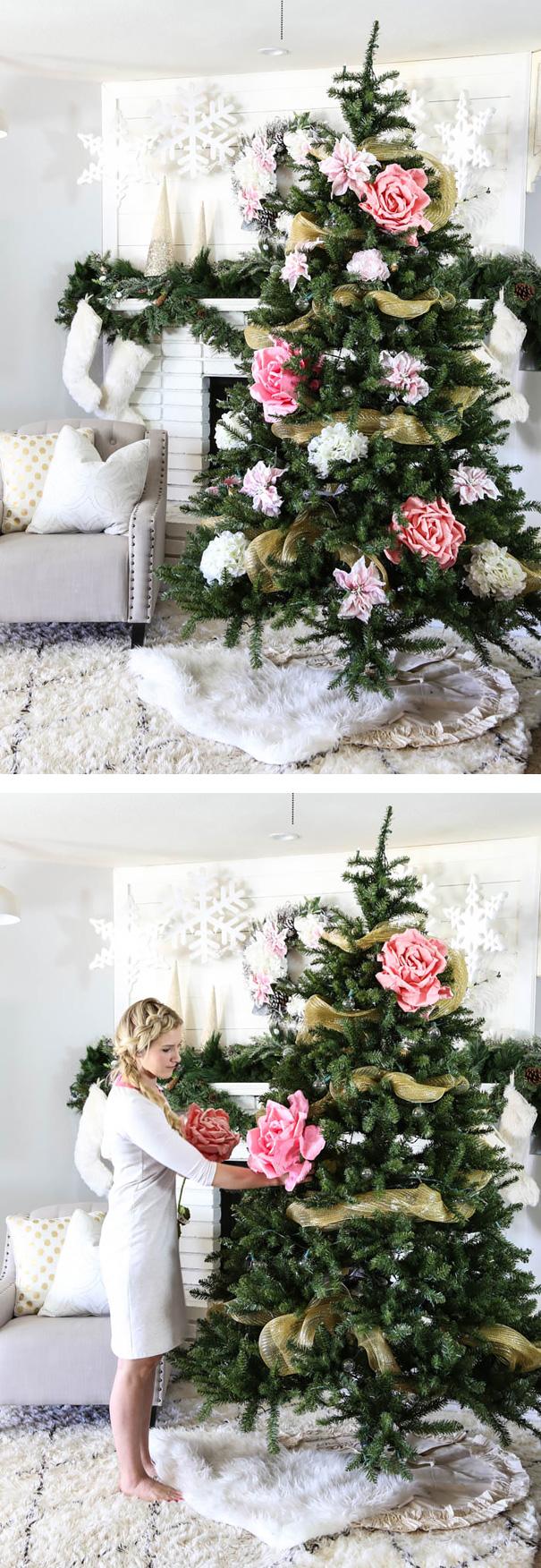 perierga.gr - Άνθισαν τα... χριστουγεννιάτικα δέντρα!