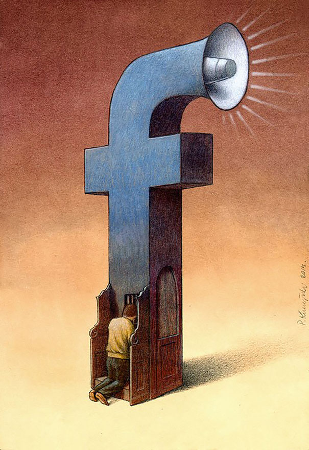 perierga.gr - 20 εικονογραφήσεις δείχνουν την εξάρτησή μας από την τεχνολογία!