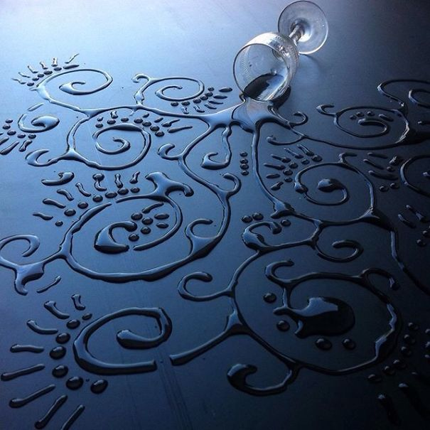 perierga.gr - Δημιουργώντας... έργα τέχνης με σταγόνες νερού!