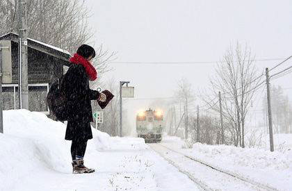 perierga.gr - Σταθμός τρένου στην Ιαπωνία λειτουργεί για έναν επιβάτη!