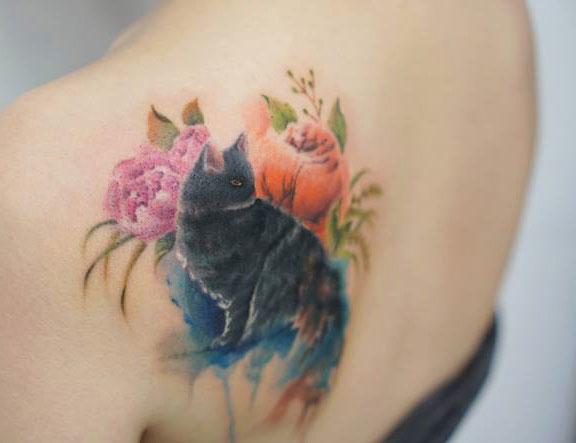 perierga.gr - Όμορφα τατουάζ μοιάζουν με ακουαρέλες!