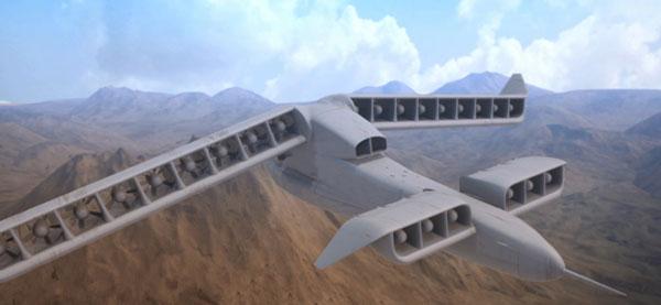 perierga.gr - Αεροσκάφος που απογειώνεται σαν ελικόπτερο και πετά σαν αεροπλάνο!