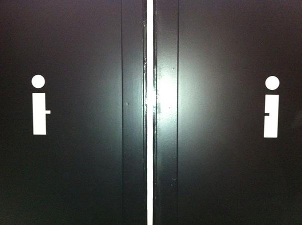 perierga.gr - Eυφάνταστες πινακίδες σε τουαλέτες!
