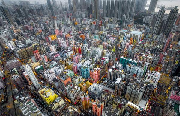 perierga.gr - Eντυπωσιακές φωτογραφίες του Χονγκ Κονγκ από drone!
