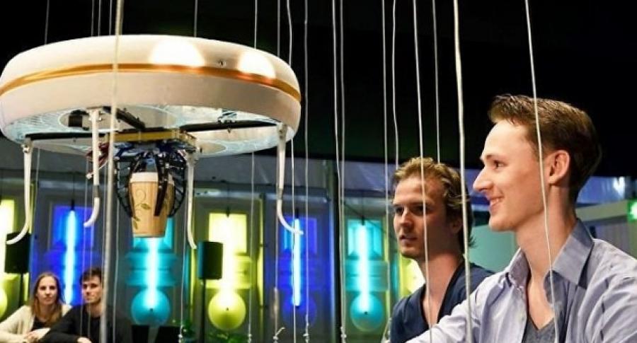 perierga.gr - Άνοιξε το πρώτο Drone Café στην Ολλανδία!