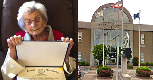 perierga.gr - Γιαγιά πήρε πτυχίο στα 102 της χρόνια!