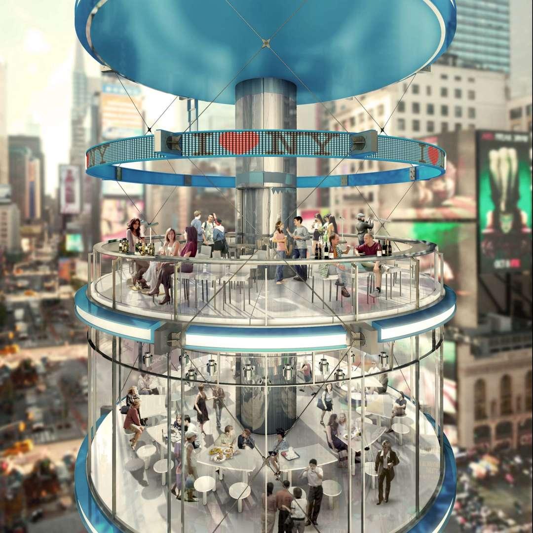perierga.gr - Κάθετο... πάρκο στην Times Square!