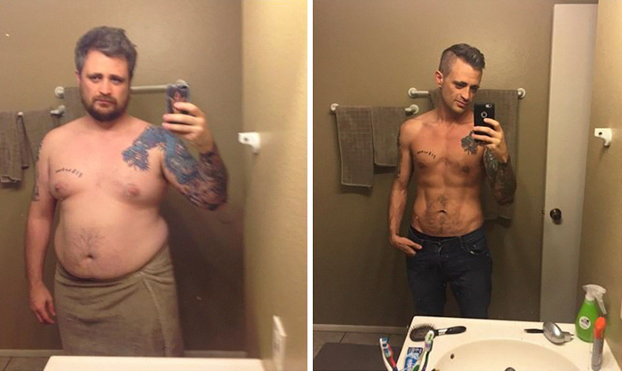 perierga.gr - Απίστευτη μεταμόρφωση ανθρώπων που έχασαν πολλά κιλά!