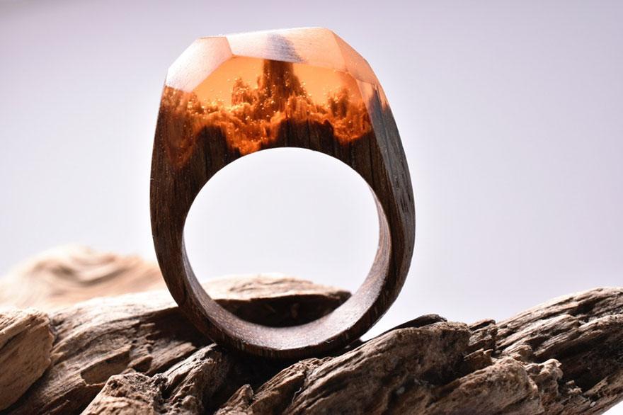 perierga.gr - Εντυπωσιακοί μικρόκοσμοι μέσα σε δαχτυλίδια!