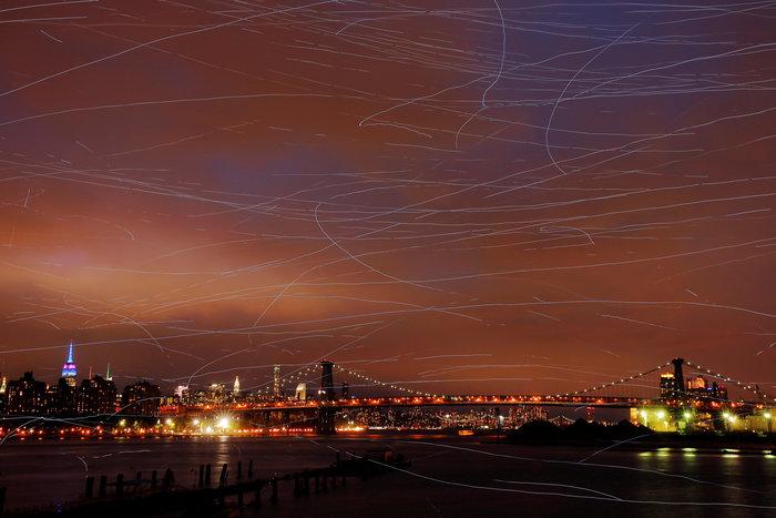 perierga.gr - O ουρανός φωτίστηκε από περιστέρια...