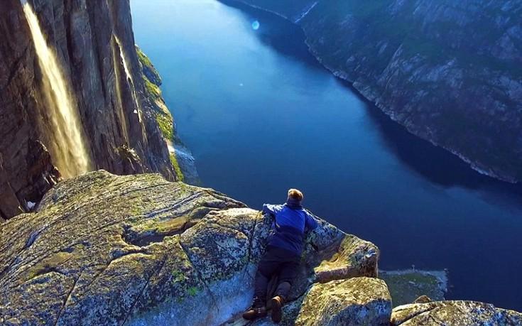 perierga.gr - Ταξίδι στις ομορφιές της Νορβηγίας με drone!