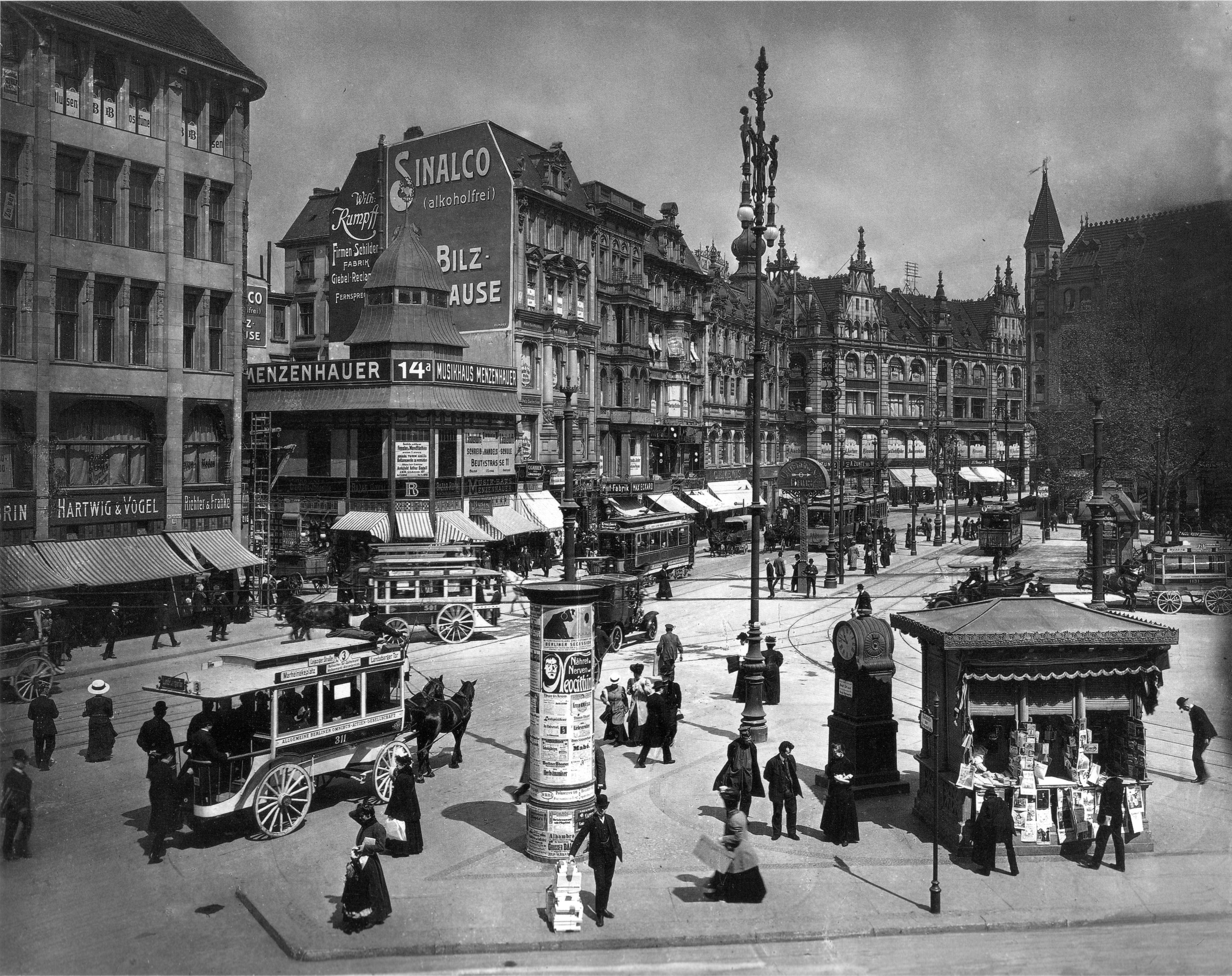 perierga.gr - To Βερολίνο του 1896 σε ένα βίντεο!
