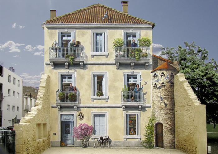 perierga.gr - Μεταμορφώνoντας βαρετούς αστικούς τοίχους σε σκηνές γεμάτες ζωή!
