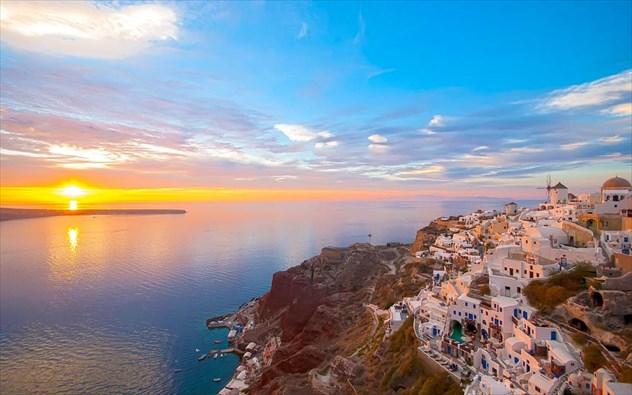 Υπέροχα ηλιοβασιλέματα στο Αιγαίο!   Perierga.gr