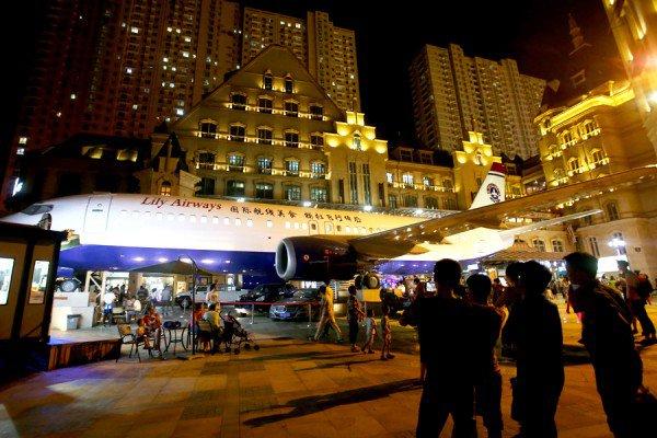 perierga.gr - Boeing 737 έγινε εστιατόριο!