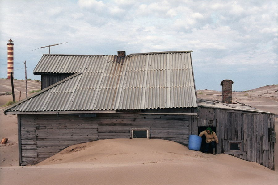 perierga.gr - Shoyna: Πόλη θαμμένη στην άμμο!