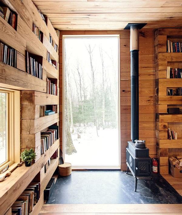 perierga.gr - Βιβλιοθήκη στο... δάσος!