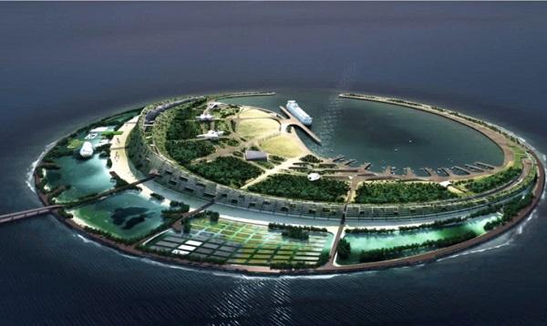 perierga.gr - Τεχνητό νησί στην Κίνα!
