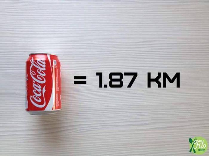 perierga.gr - Πόσα χιλιόμετρα πρέπει να τρέξουμε για να κάψουμε συγκεκριμένες τροφές;