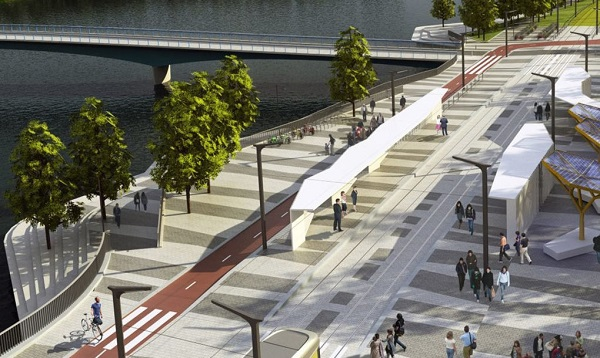 perierga.gr - Η μεγαλύτερη γέφυρα της Φινλανδίας για πεζούς και ποδηλάτες!