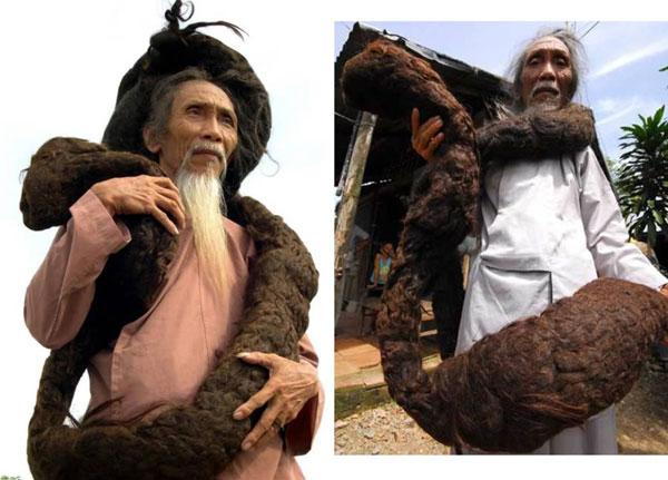 perierga.gr - Ο άνθρωπος με τα μακρύτερα μαλλιά στον κόσμο!