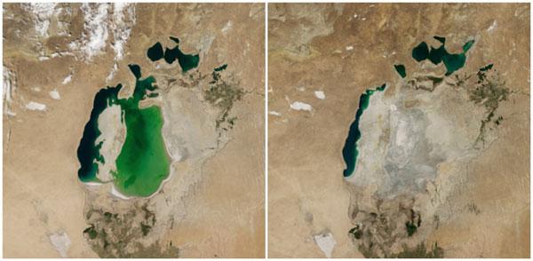perierga.gr - Δραματικές αλλαγές στον πλανήτη μέσα από εικόνες της NASA!
