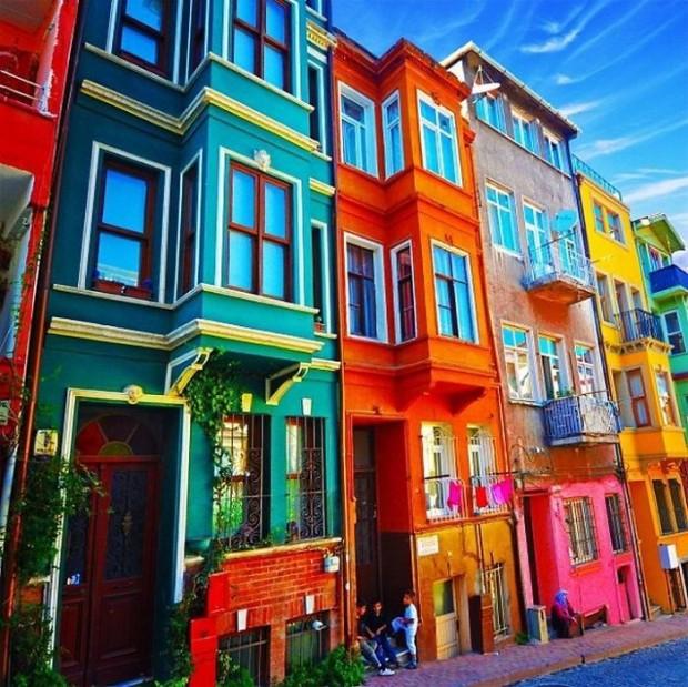 perierga.gr - Πολύχρωμα σπίτια στον κόσμο!