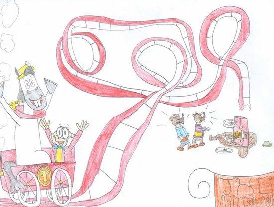 Perierga.gr-Υπέροχες ζωγραφιές από ένα 12χρονο κορίτσι με αυτισμό