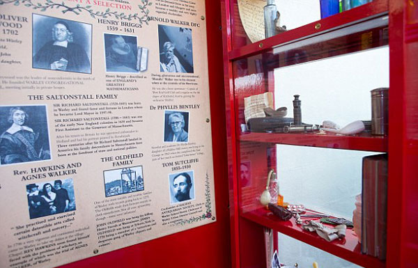 perierga.gr - Το μικρότερο μουσείο στον κόσμο... σε τηλεφωνικό θάλαμο!