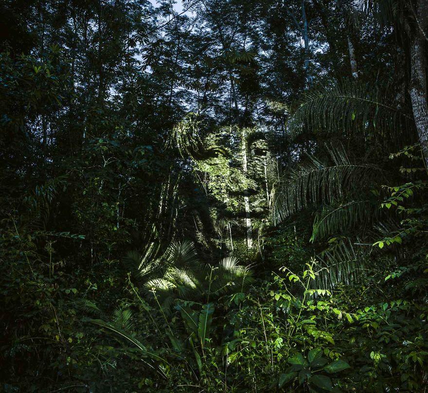 perierga.gr - Για πρώτη φορά γκράφιτι... στον Αμαζόνιο!