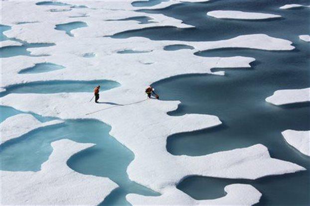 perierga.gr - Η Αρκτική «θα μείνει χωρίς καθόλου πάγο» το καλοκαίρι του 2045!